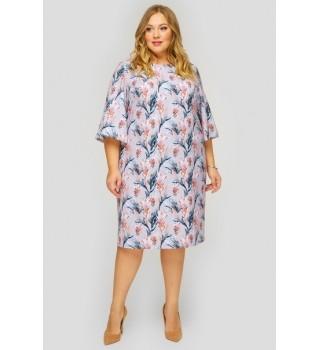 Платье базовое с широкими рукавами арт.SP813010